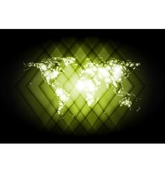 Abstract world map shiny backdrop vector
