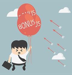 Businessman not a bonus vector