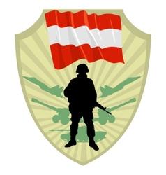 Army of austria vector