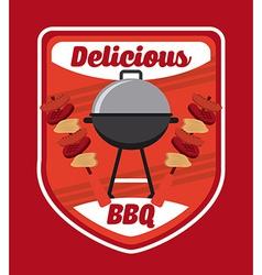 Bbq menu vector