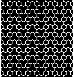 Seamless hexagons texture vector