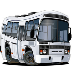 Cartoon bus vector