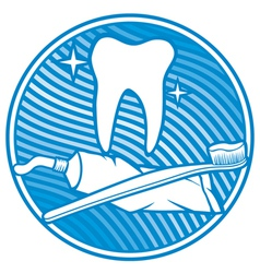 Dental symbol - tooth vector