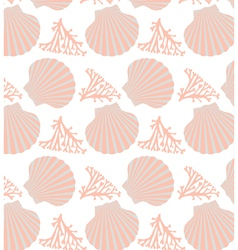 Shell seamless vector