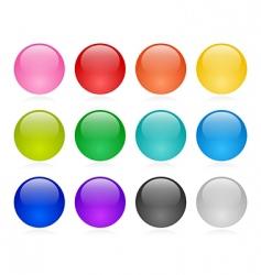 Web button set vector