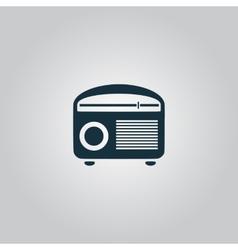 Retro revival radios tuner vector