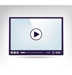 Modern skin for video vector