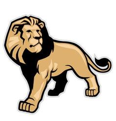 Lion mascot vector