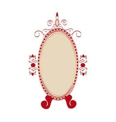 Icon mirror vector