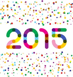 2015 happy new year graphics links style digits vector