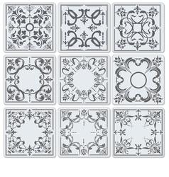Al 0717 tiles vector
