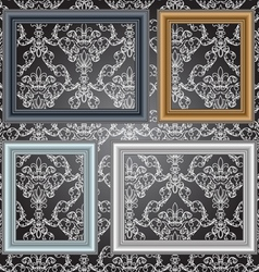 Frames on the wall vector