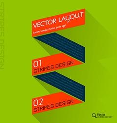 Fresh colors ribbon vector