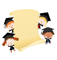 Graduation message vector