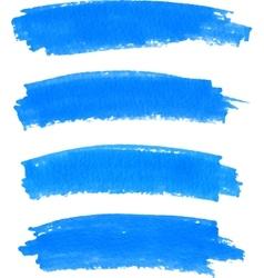 Spot of paint drawn by felt pen vector