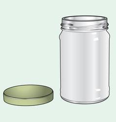 Bottle glass vector