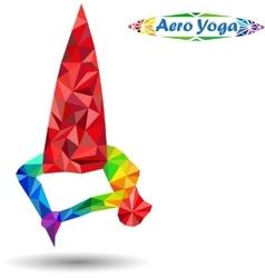 Aero yoga vector