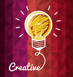 Creative idea design vector