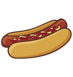 Hot dog vector