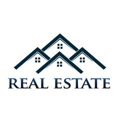 Houses apartments logo design element vector
