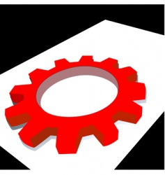 Mechanic wheel vector