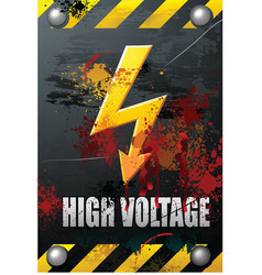 High voltage vector