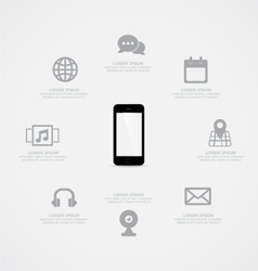 Phone information vector