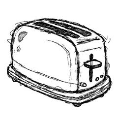 Scribble series - toaster vector