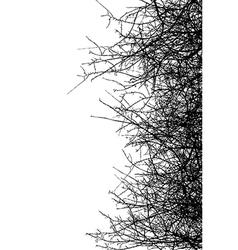 Dry bush vector