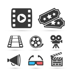 Cinema trendy icon for design elements vector