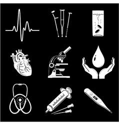 Medical elements vector