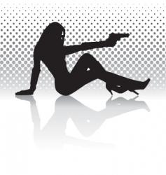 Sexy woman vector