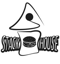 Vintage burgers poster vector