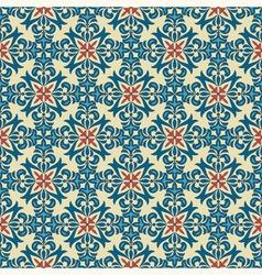 Seamless vintage floral pattern vector