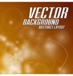 Background light abstract orange vector