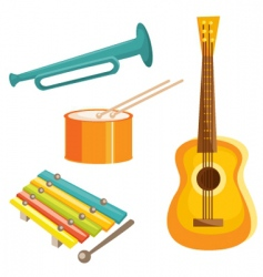 Music objects vector