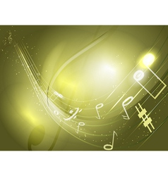 Abstract conceptual music background vector