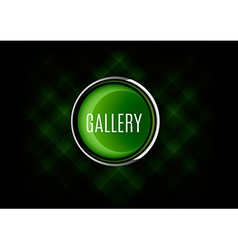 Gallery button vector