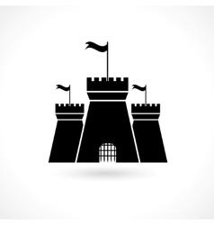 Icon of prison vector