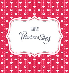 Sweet valentine card vector