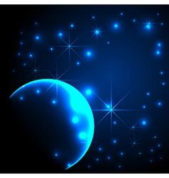 Starlight background vector