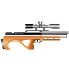 Air rifle vector