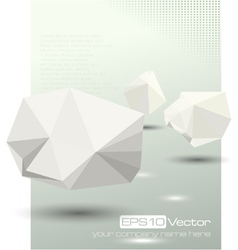 Abstract modern depth of field business design vector