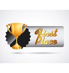 Gold awards vector