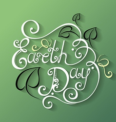 Holidays lettering vector