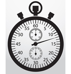 Stopwatch app icon vector