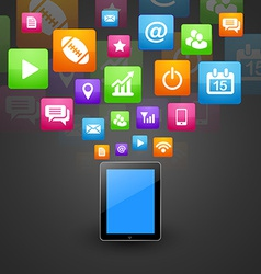 Smart phone tablet vector