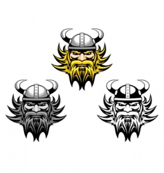 Ancient viking vector