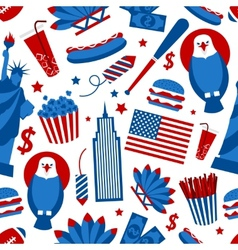 New york usa seamless pattern vector
