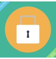 Lock icon - icon vector